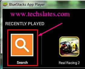 Search-bluestacks-app