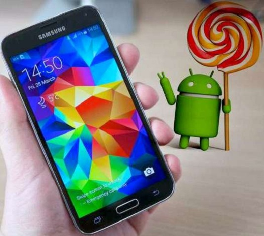 Lollipop updates to Samsung image