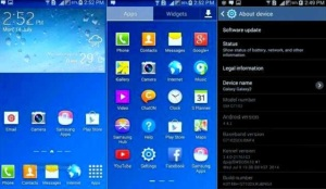 lollipop updates to samsung smartphone image