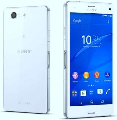 Sony Xperia Z3 compact1 smartphone image