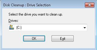 Run Disk Cleanup tip image