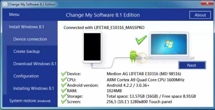 Free Download Change my Software 8.1 edition rar file\u2013Install