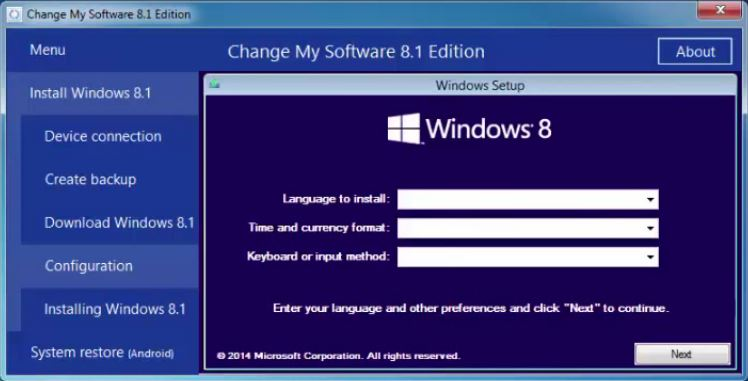 change my software 8.1 edition.rar free download