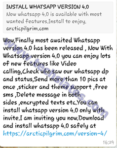 Whatsapp arctic pilgrim com version 4 download