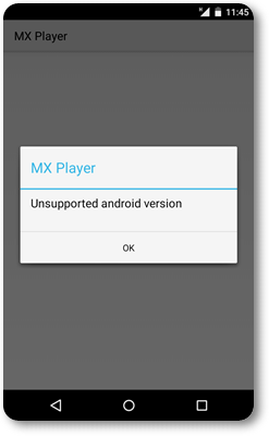 Video Player issue in Android lollipop image