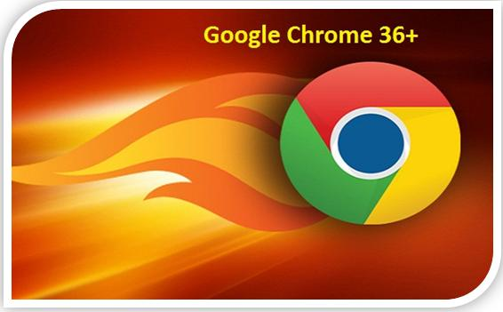 WhatsApp google chrome 36+ plus for PC and android users  image