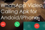 WhatsApp Video Call Download free apk for iPhone/Android and Windows 10/8/7/8.1 PC