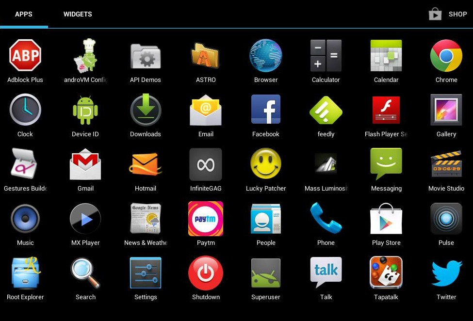 play Android games on Windows PC; Best Way Android -X86 picture